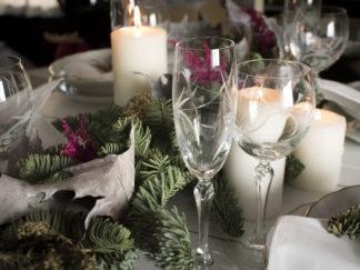 Navidad, guirnalda pino
